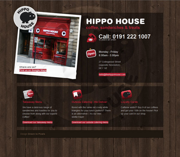 Hippo House website
