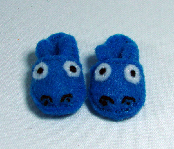 Mini Hippo Slippers