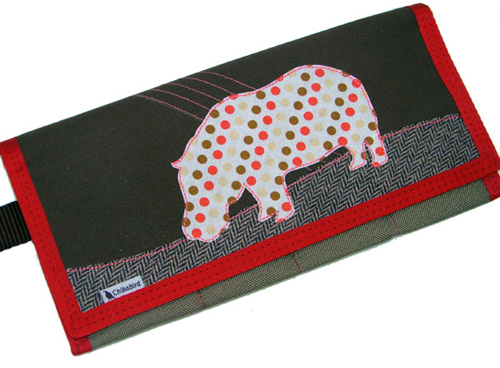 Hip Hippo Four Square Clutch