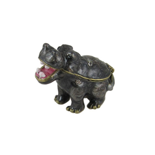 Baby Hippo Trinket Box