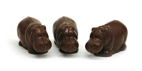 Chocolate Hippos from Theobroma