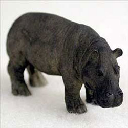 Mini Hippo Figurine