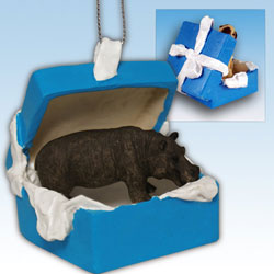 Hippo Gift Box Ornament