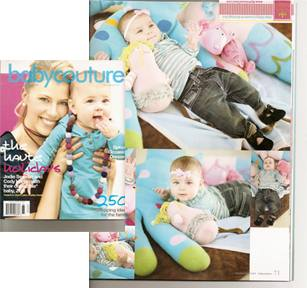 Baby Couture Magazine with Hada Hippo