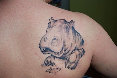 Hippo Tattoo