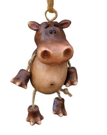 Bert Anderson Hippo Ornament
