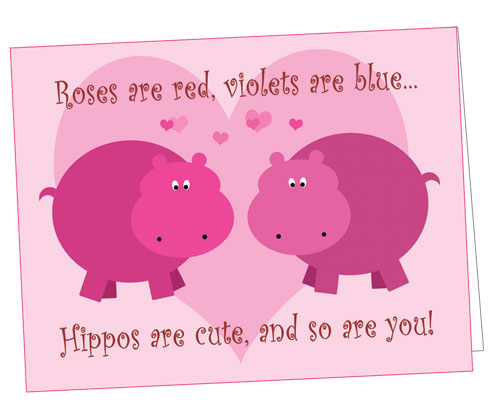 valentine s cards for valentine s day hippo mojo blog