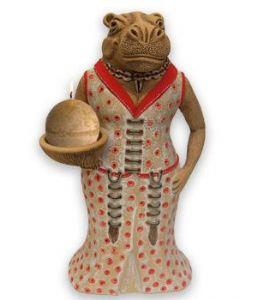 Boardroom Hippo Statue