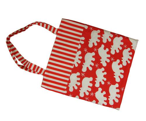 Hippo Print Tote Bag