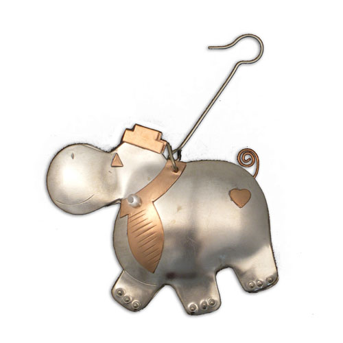 Mr. Happy Hippo Ornament