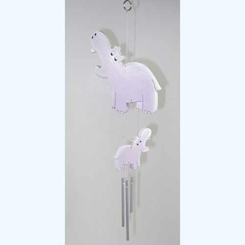 Hippo Wind Chime