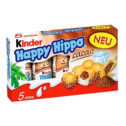 Kinder Happy Hippo Cocoa Cream Biscuit Bars