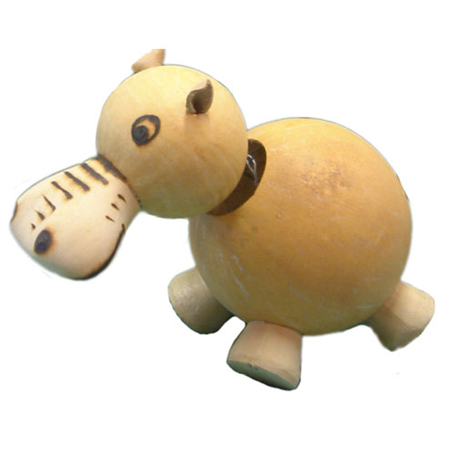 Bobble Head Gourd Hippopotamus